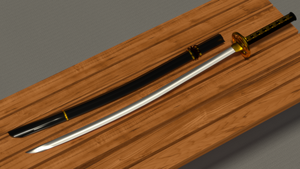 Katana (Blender) by TheHoboCouncil