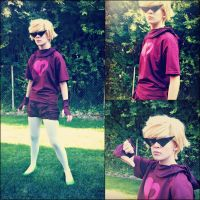Dirk Strider- The Prince of Heart (God Tier) by Yumi-Bagel