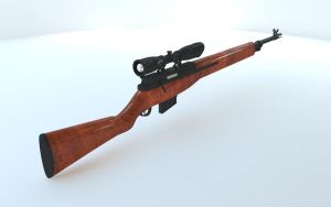 m14 special ops wood by loxfear