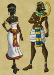 Aida and Radames by DaBrandonSphere