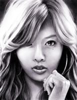 HyunA by watermeloons