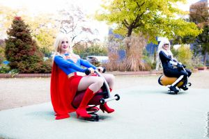 Girls just like to have fun by LuceCosplay