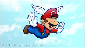 Mario 64 - Mario Believe Mario Can Fly by RatchetMario