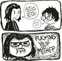 snape's fantasies. by objections