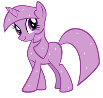 Twilight Sparkle BB Wave 1 Glitter vexel by Durpy