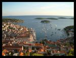 Hvar at Sunset by evaPM