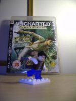 uncharted, drake lego. by datatoa