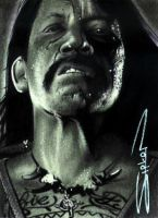 Machete Sketch Card by RandySiplon