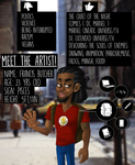 My Meet The Artist Submission by emoboyfuno