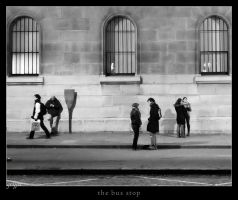 the bus stop by graffit