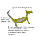 Crynock - Pokemon by WorldsBest