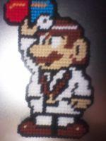 Dr. Mario Throw by AprilMoonshine