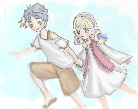 RuneFactory: Nicholas and Ceci by Ice-222