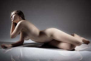 Nude on Acrylic No 4 by BrianMPhotography