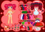 Cherry Soda Dress Up Preview by Princess-Peachie