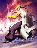 Street fighter - Yun by GENZOMAN