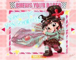 Vanellope Von Schweetz I Chews You! by ArtistAbe