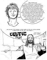 Celtic Frost comic page by steamrobo