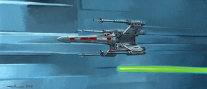 Star Wars - X-Wing by jilub