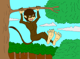 GIFT 1 -Tokine -X-The-Monkey by DTWX