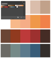 Team Fortress 2 Color Swatches by frootzcat