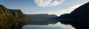 fjordpanorama by ReikiPhoto