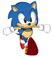 Classic Sonic SA Style Attempt by Tails19950