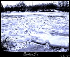 Broken Ice II by Rae-Lynn