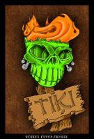 TIKI SKULL by SuicideKingXIII