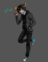 Fantroll Auction: Troublemaker [CLOSED] by TigeyTheMighty