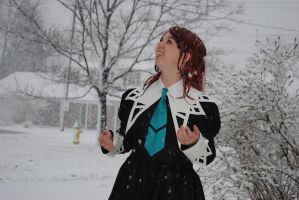 Nagisa's First Snow! by THEM-Cosplayz