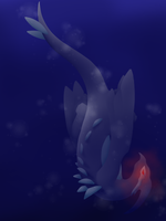 Shadow Lugia by Gathouria