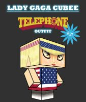 Gaga Cubee - Telephone No. 2 by kpatrick