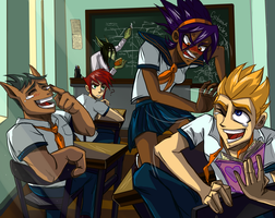 Storm Hawks- school version by CoraOrvat