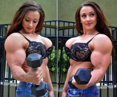 Erica muscled pair2 by Turbo99