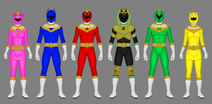 Request: Ohranger redesigned by Soluna17