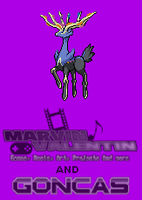 Pokemon Xerneas Sprite by marvinvalentin07