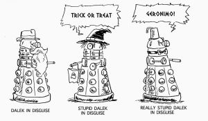 daleks in disguise by kentcj