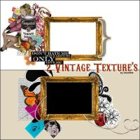 Vintage texture's + by Discopada