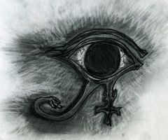 The Eye of Horus by Skandinav666