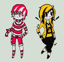 CreepyPasta Adoptables Auction [ONE LEFT] by Cerealous