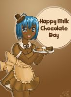 milk chocolate day by ForbiddenDesirers