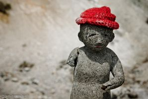 Jizo - Protector of Children by fiathriel