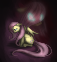 Fluttershy's Monster by Willow141