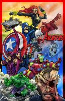 Avengers by ZipDraw