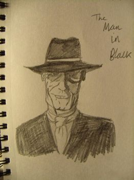 The Man in Black by theTwistedman