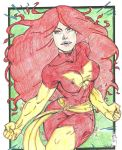 Red Pheonix by lil-shooting-star