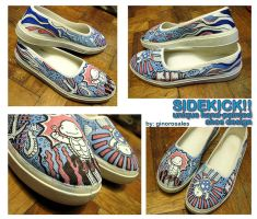 Sidekick Shoe Design 04 by ginorosales