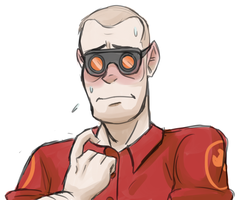 Flustered Engie by Maximum-124