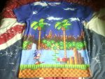 Sonic the Hedgehog T-Shirt by DoctorWhoOne